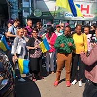 Pastor Sunday Adelaja Встреча в Бориспольском аэропорту