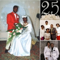 Пастор Сандей Аделаджа Серебряный юбилей свадьбы