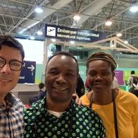 На конвенции ADONEP Бразилия Рио-Де-Жанейро
